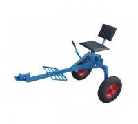 Адаптер для мотоблоков с воздушным охлаждением (без колес, короткий) Премиум