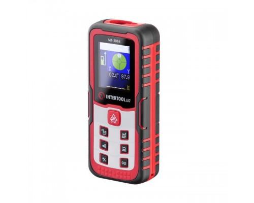 Дальномер лазерный 40м, цветной дисплей INTERTOOL MT-3084