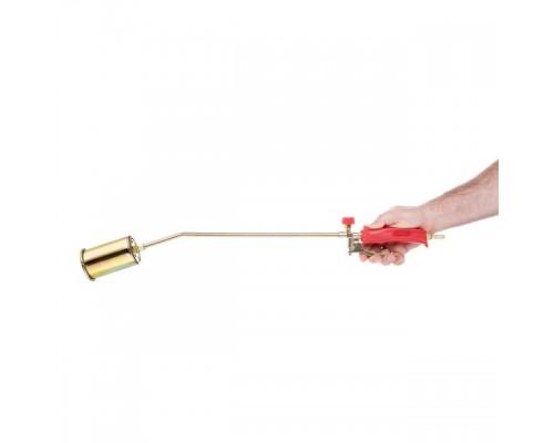 Горелка газовая с регулятором и клапаном 715мм, сопло 125мм, Ø60мм. INTERTOOL GB-0046