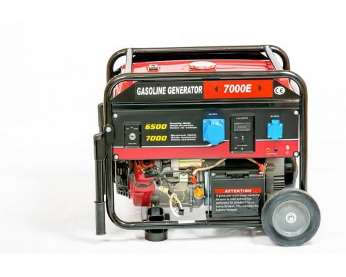 Генератор бензиновый WEIMA WM7000E ATS (7 кВт, 1 фаза, электростартер, автоматика)