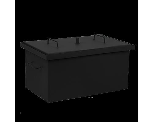 Коптильня горячего копчения Дид Коптенко средняя с покраской (590x360x320)
