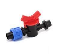 Кран стартовый с резинкой Presto-PS для капельной ленты 16 мм (OV-031708-R)