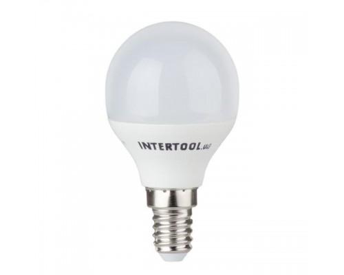 Светодиодная лампа LED 5Вт, E14, 220В, INTERTOOL LL-0102