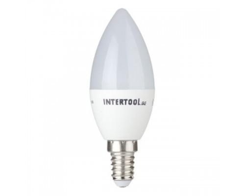 Светодиодная лампа LED 3Вт, E14, 220В, INTERTOOL LL-0151