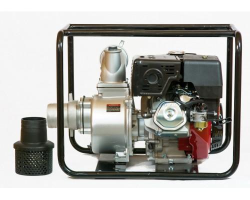 Мотопомпа бензиновая WEIMA WMQGZ100-30 NEW (120 куб.м/час, 18 л.с.)