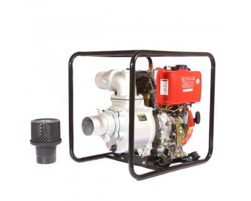 Мотопомпа дизельная WEIMA WMCGZ100-30E (9.5 л.с., элекстростартер, 120 куб. м/ч, 100 мм)