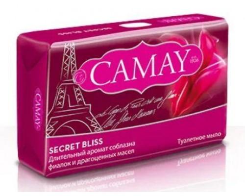 Туалетное мыло Camay Secret Bliss c ароматом фиалок 85г. (Египет)