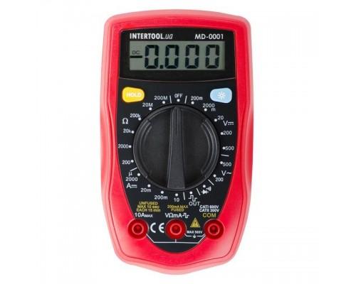 Мультиметр цифровой INTERTOOL MD-0001