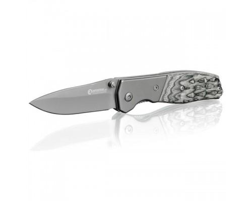 Нож складной 165 мм, ручка с деревянными вставками. INTERTOOL HT-0590