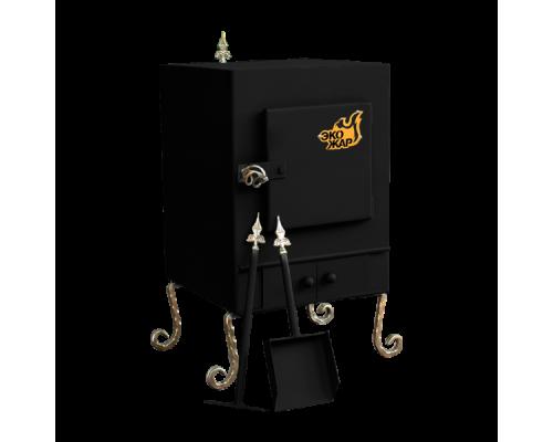 Печь Экожар Комфорт с камерой дожига вторичных газов (сталь 4мм)