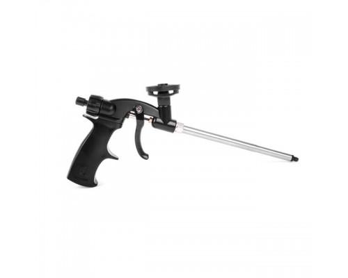 Пистолет для монтажной пены с тефлоновым покрытием иглы, трубки и держателя баллона + 4 нас. INTERTOOL PT-0605