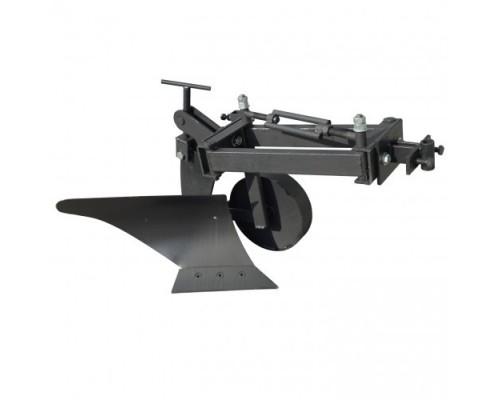 Плуг для мотоблока Zirka-105 Премиум (опорне колесо, коротка рама)