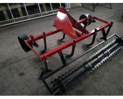 Культиватор сплошной обработки STARmet 1,7 м тракторный с зубчатым катком