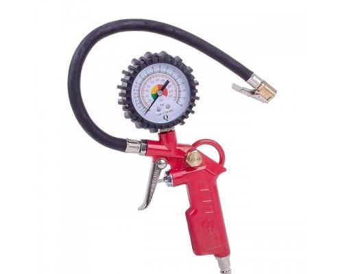 Пистолет для подкачки колес с манометром 63 мм пневматический (блистер) INTERTOOL PT-0503