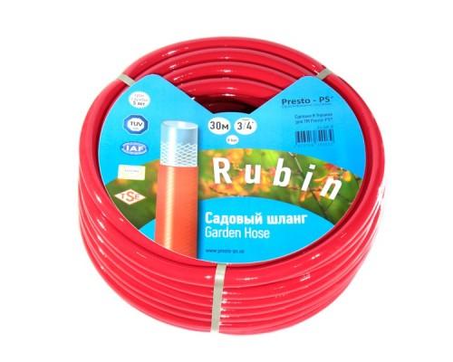 Шланг поливочный Presto-PS садовый Rubin диаметр 3/4 дюйма, длина 30 м (3/4 GHR 30)
