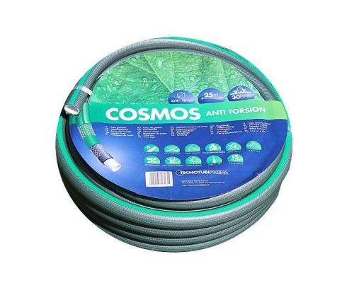 Шланг Tecnotubi Cosmos садовый для полива диаметр 3/4 дюйма, длина 50 м, в упаковке - 1 шт. (CS 3/4 50)