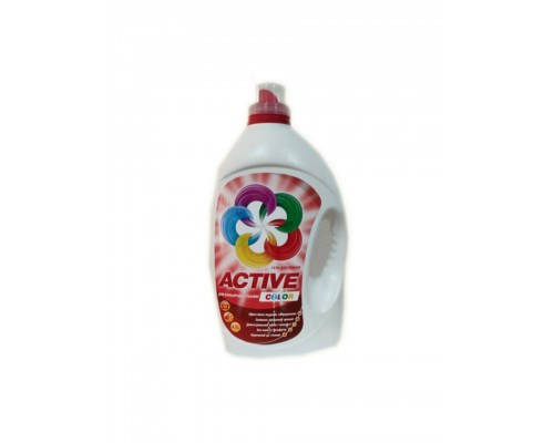 Active Color - Гель для стирки цветных вещей 4,5 л