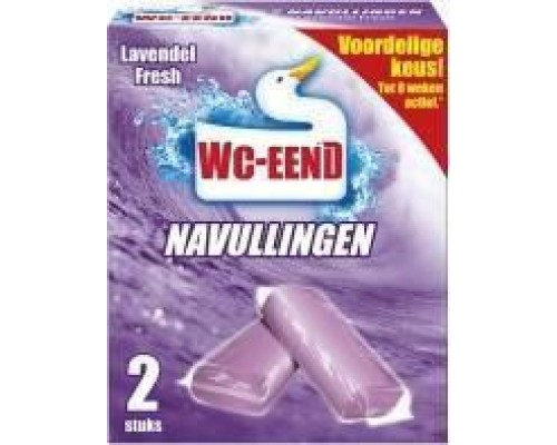Таблетки для унітазу Wc-eend lavendel 2х40г.