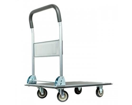 Тележка ручная четырех колесная до 150 кг, 740*480*830, колеса 100 мм INTERTOOL LT-9053