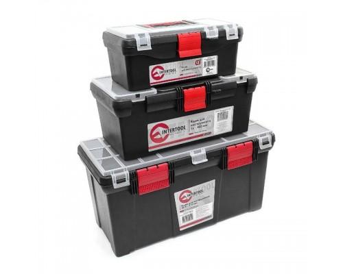 Комплект ящиков для инструментов, 3 шт INTERTOOL BX-0003