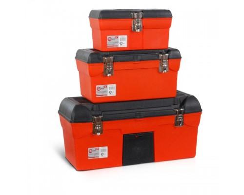 Комплект ящиков для инструментов с металлическим замком INTERTOOL BX-0007